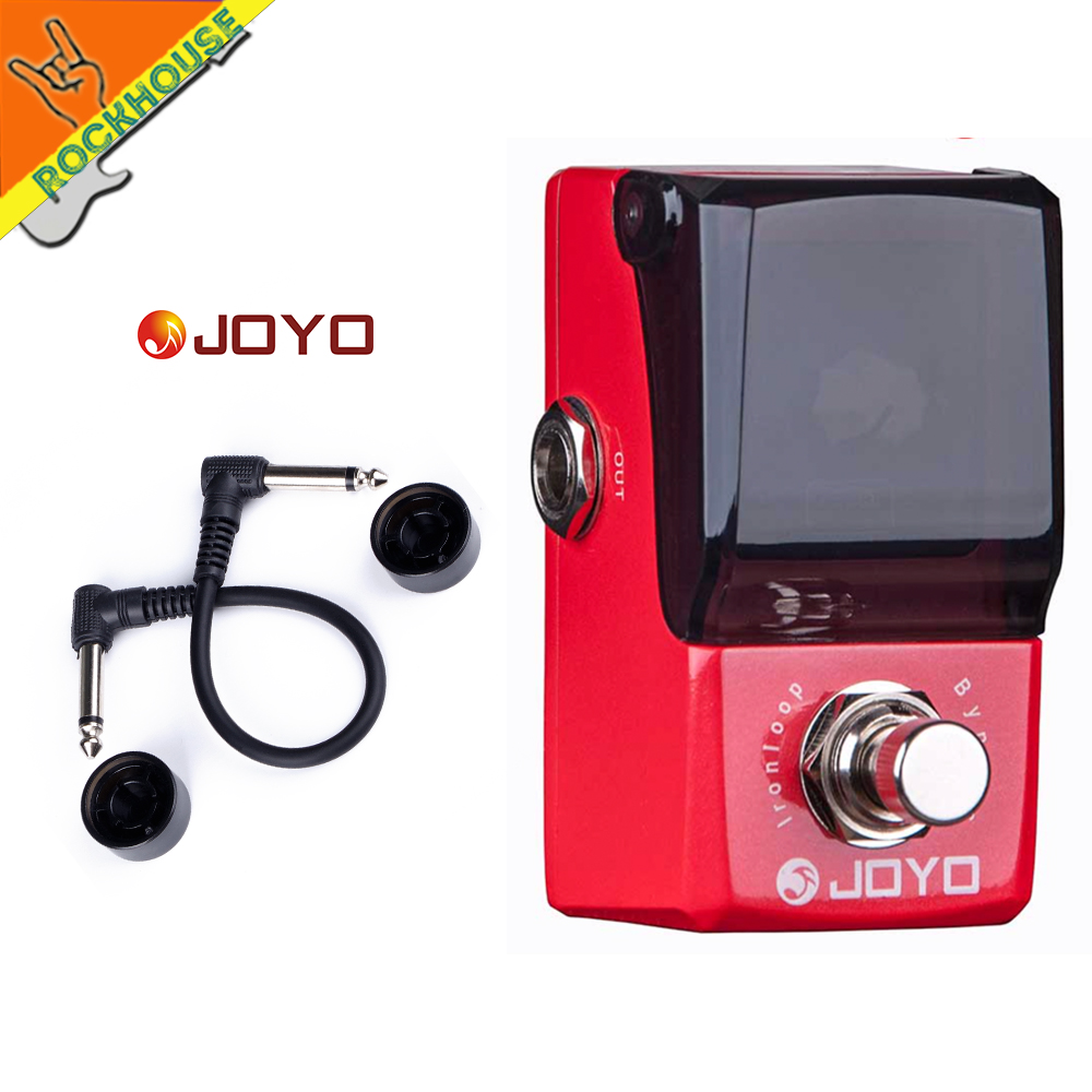 JOYO Iron loop Guitar Looper Effect Pedal 20 minutes Recording Time and Infinite Overdubbing loop time