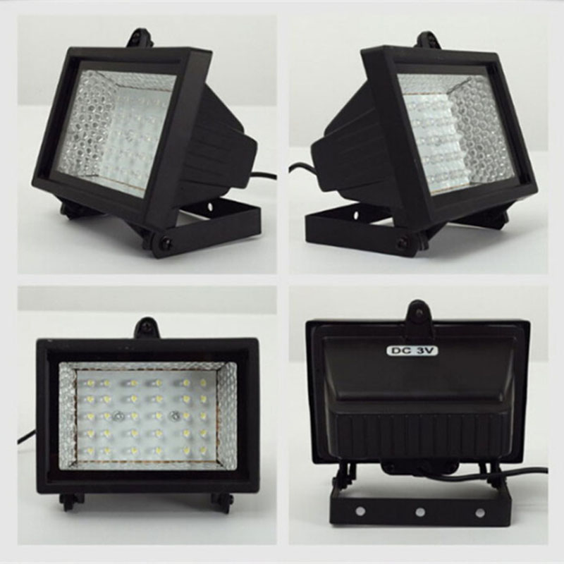 Solar Home Lighting System Floodlight 30 LED Outdoor Light Solar ...