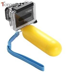 Image 3 - Empuñadura flotante de agua amarilla, accesorio de flotación para Gopro Hero 4/3 +/3/2/1 para Gopro Sj4000 Sj5000 Sj6000 Sj7000