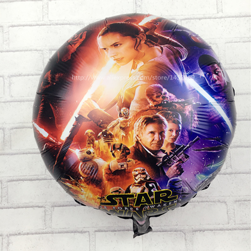 XXPWJ New arrival star wars balloons round bubble balloons 18 inch birthday ball