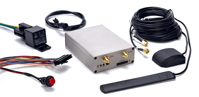 Free AVL car tracking system FL-2000G