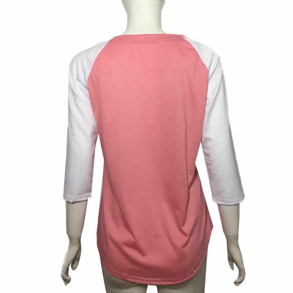 Thời trang t áo sơ mi phụ nữ độc đáo Biết Ơn Biết Ơn May Mắn mô hình thư giản dị T-Shirt chất lượng tốt camisetas mujer