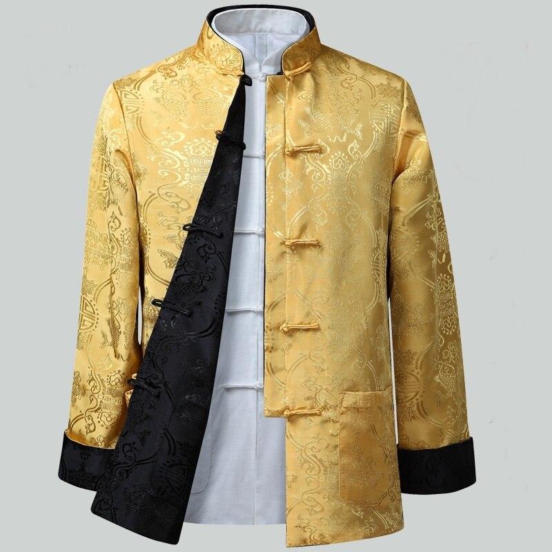 Mens chinese jackets shanghai tang traditional chinese clothing for men kung fu uniform traditional chinese clothing Q126