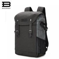 BAGSMART Для мужчин рюкзак 15,6 дюймов ноутбук рюкзак DSLR мешок Водонепроницаемый дождевик Сумка Камера Аксессуары Рюкзак