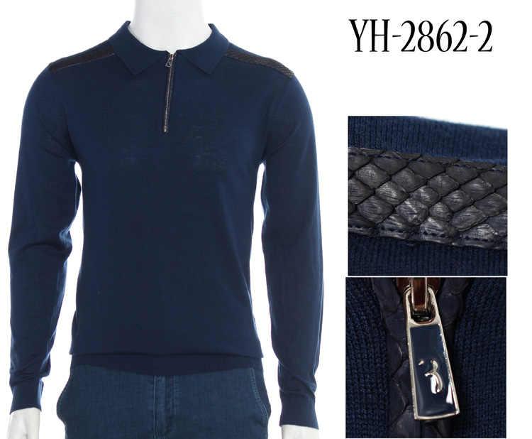 Миллиардер TACE & SHARK шерстяной свитер змеиной кожи мужская 2018 Новые Модные Повседневные Удобные высокого качества джентльмен M-4XL Бесплатная доставка