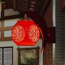 Новое поступление бра Горячей продажи настенный светильник керамическая старинные настенные светильники ручной работы высокого качества новинка ванная комната свет лампады
