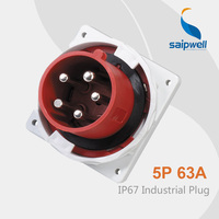 Saipwell Electrical Plug Connectors International Power Plug Industrial Plug 440v ip67 SP 3658 High Quality