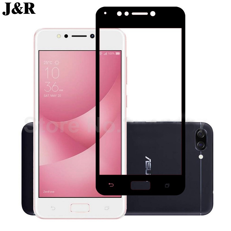 J&R Tempered Glass For Asus ZenFone 4 Max ZC520KL Screen Protector For Asus ZenFone 4 Max ZC ZC520 520 520KL KL Protective Film