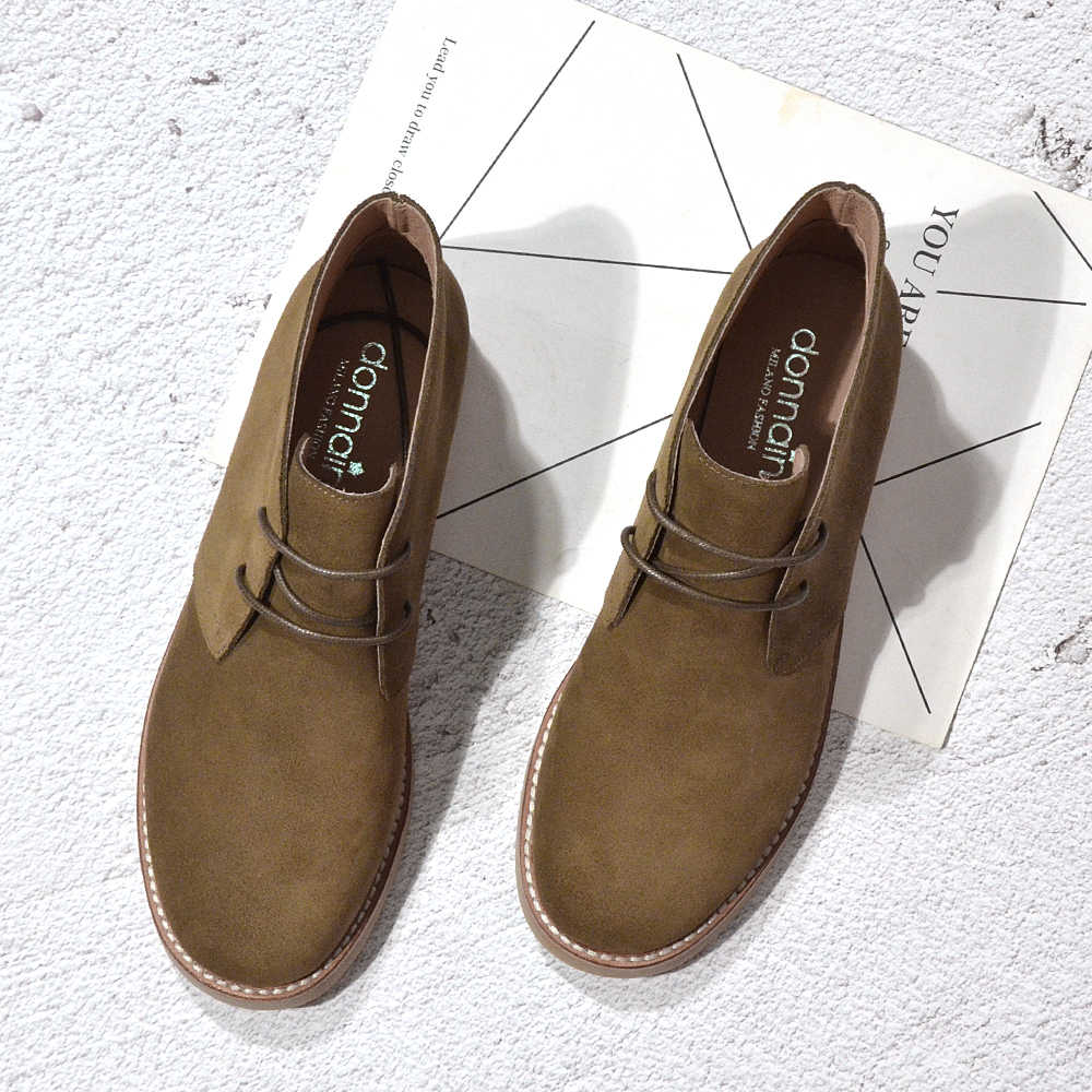 Donna-ในแฟชั่นมาร์ตินบู๊ทส์ผู้หญิงรองเท้าผู้ใหญ่ฤดูใบไม้ร่วงฤดูใบไม้ผลิ 2019 ข้อเท้ารองเท้าหนังนิ่มหนัง LACE-up Casual ต่ำรองเท้าส้นรองเท้ารองเท้าผู้หญิง
