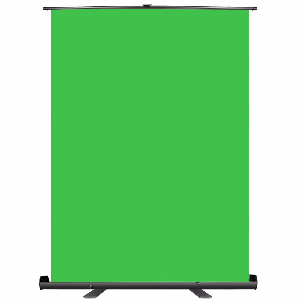 Neewer Green Screen Backdrop - Collapsible Chromakey Background Panel with Auto-locking Frame, Wrinkle-resistant Chroma-green фон colorama 2 72x11m chroma green co133