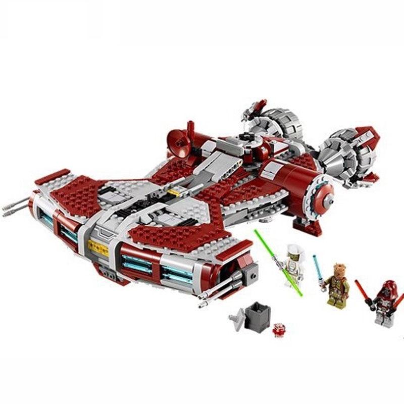 In stock Star Wars Jedi Defender Class Cruiser 957Pcs Compatible ing Star Wars ing starwars Building