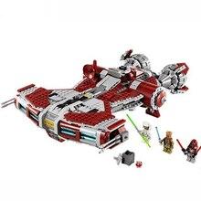 В наличии Звездные войны джедая Defender Class Cruiser 957 шт. совместимые ing Star Wars ing строительные блоки StarWars es technic
