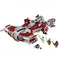 In stock Legoinglys Star Wars Jedi Defender Class Cruiser 957Pcs Compatible Legoinglys starwars Building Blocks