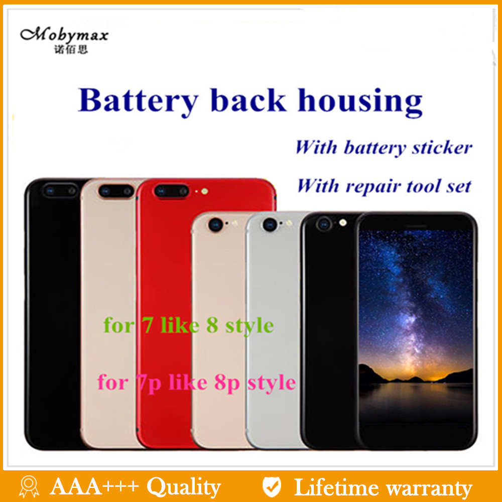 Replacement Chassis-Frame Housing iPhone Like Battery-Cover 8plus for Door