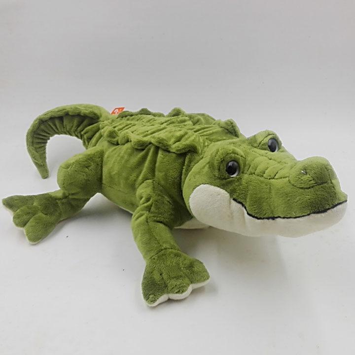 Kids Toys For Boy Pillow  Birthday Gifts Simulation Animal Big Eyes Crocodile Dolls Toy Good Quality