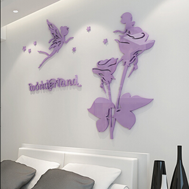Wall Stickers For Living Room popular 3d wall stickers crystal flower-buy cheap 3d wall stickers