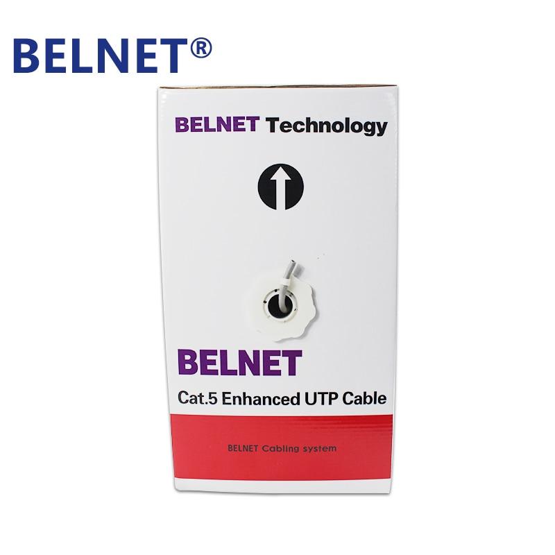 BELNET 305m 1000ft CAT5E UTP RJ45 Cable de red Ethernet Cable LAN - Cables de computadora y conectores - foto 2