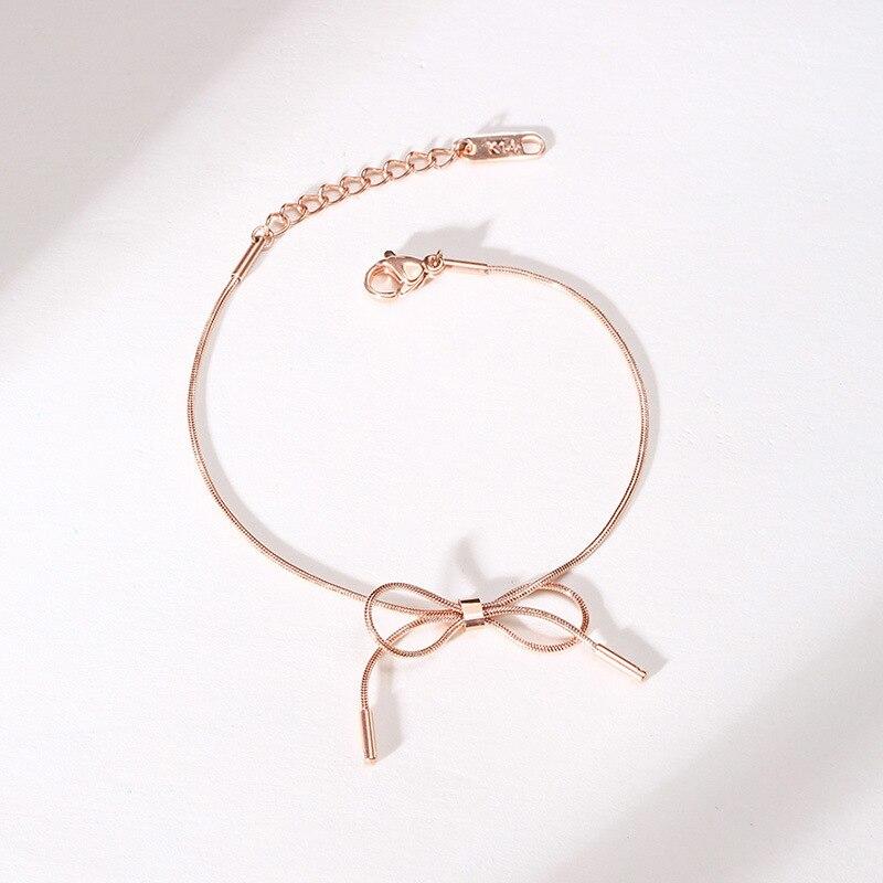 Купить модные браслеты розового золота для женщин темпераментные милые