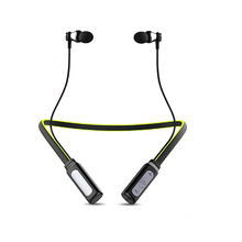 HT1 waterproof Bluetooth headset wireless headset, sports active noise reduction music iOS and Android
