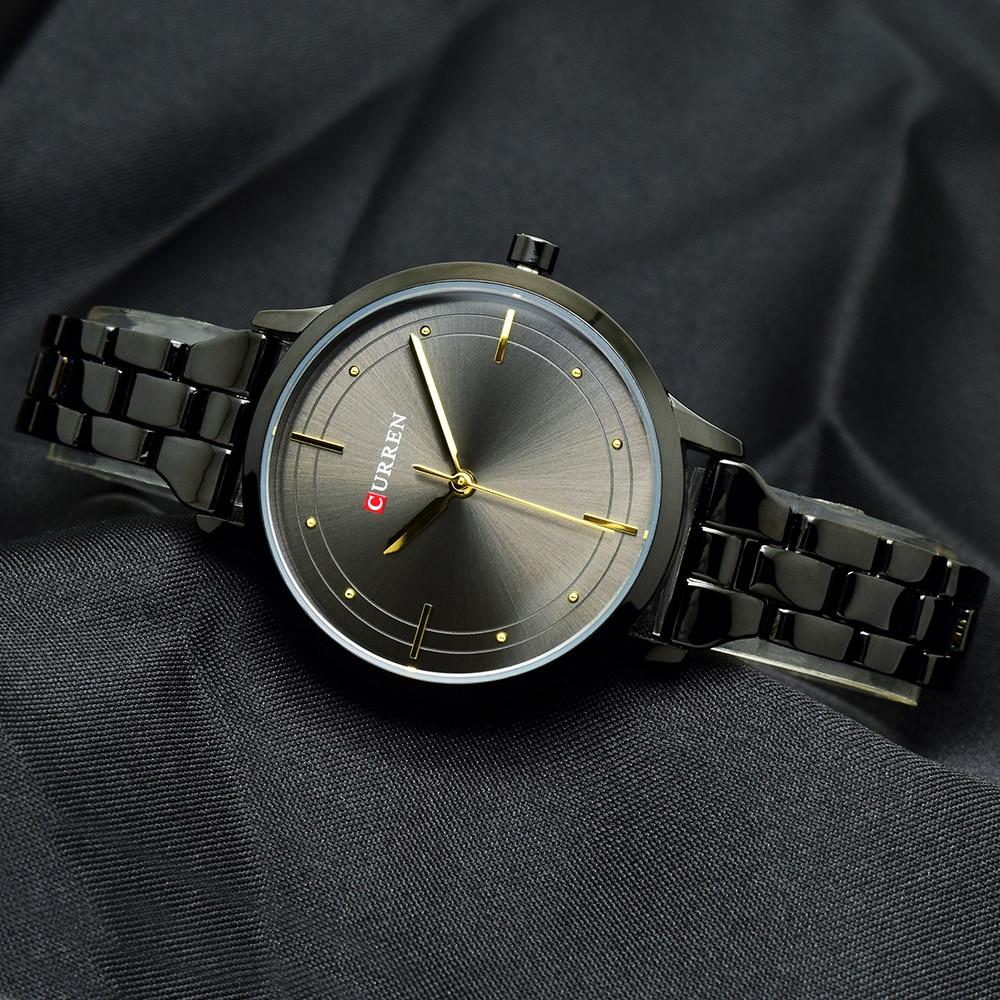 CURREN Simple Black Bracelet Watch Women Wrist Watches Ladies Womens Wristwatch For Female Clock Montre Femme Relogio Feminino