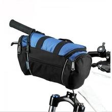 Bike Bicycle Cycling Bag Handlebar Front Tube Pannier Basket Shoulder Pack Bike Front Bag все цены