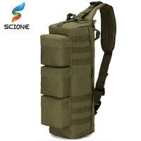 Outdoor Sports Backpack Diagonal Nylon USMC One Shoulder Bag Military Tactical Camouflage MOD Go Bag Single