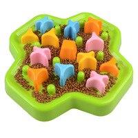 Pet Supplies & Pet Pet and slow food bowl Anti choking food rotating dog bowl Puppy Anti choking Basin