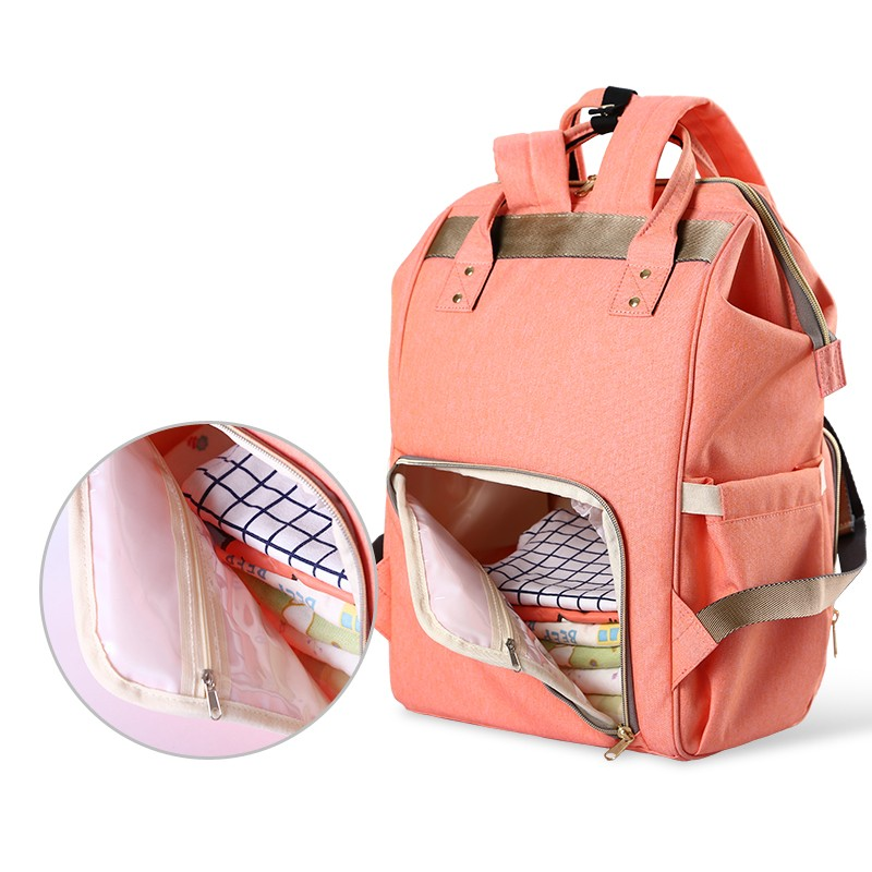 Free shipping Fashion Maternity Mummy Nappy Bag Large Capacity Baby Bag Travel Backpack Desinger Nursing Diaper Bag Baby Care купить