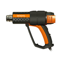 2000W third gear thermostat multi function industrial grade electric hot air gun heating gun plastic welding gun hot air tool