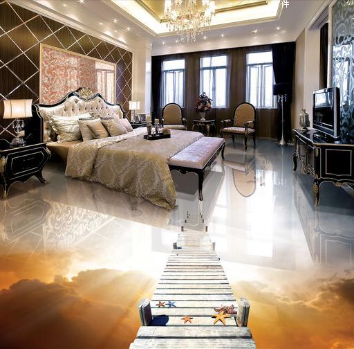ФОТО customize photo floor wallpaper Wooden dove murals wallpaper flooring pvc for living room 3d stereoscopic wallpaper