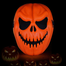 pumpkin halloween mask costume cosplay face horror ghosts scream mask festival party kid adult novelty gag toys