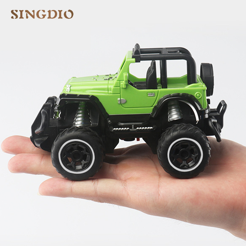 1:43 Mini Jeep Racing Car Model High Quality 5 Models RC Car Toys For Children Boys New Year Gift Ready-to-Go Cars Machines
