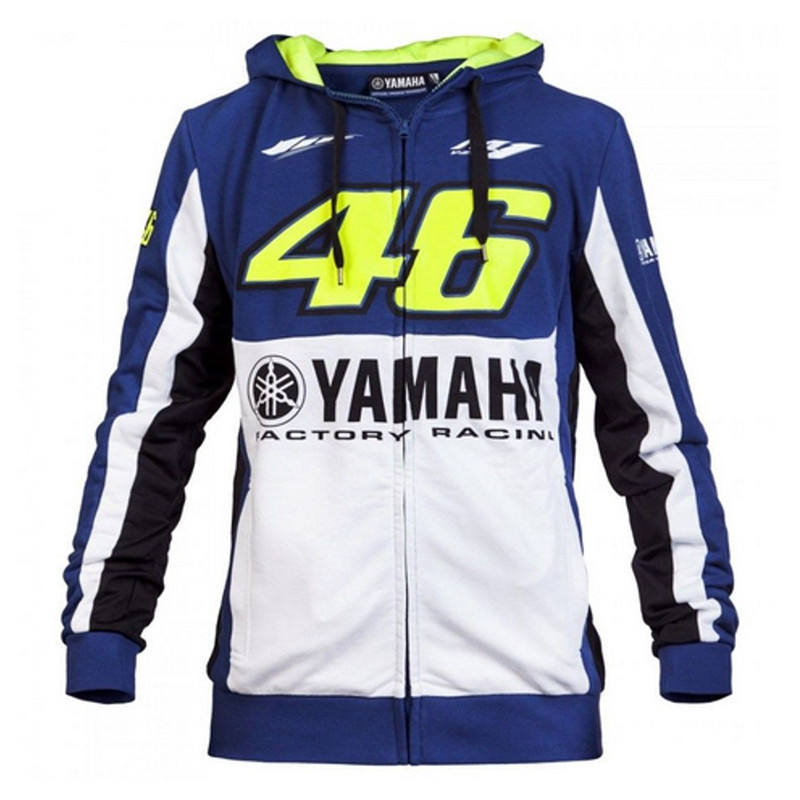 2017 <font><b>Valentino</b></font> <font><b>Rossi</b></font> VR46 Hoodie for Yamaha M1 Factory <font><b>Racing</b></font> <font><b>Team</b></font> <font><b>Moto</b></font> <font><b>GP</b></font> Adult Hoodie Sports Sweatshirt Men's Zip-up Hoody