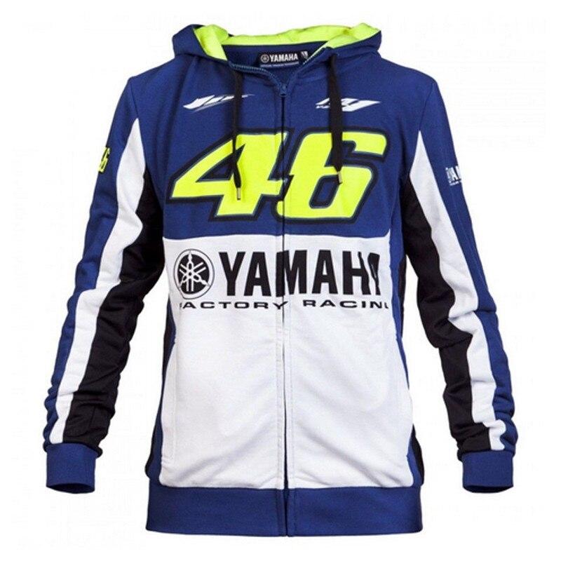 2018 <font><b>Valentino</b></font> <font><b>Rossi</b></font> VR46 Hoodie for Yamaha M1 Factory <font><b>Racing</b></font> <font><b>Team</b></font> <font><b>Moto</b></font> <font><b>GP</b></font> Adult Hoodie Sports Sweatshirt Men's Zip-up Hoody