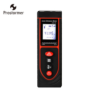 Prostormer 40M Handheld Laser Distance Meter Mini Laser Rangefinder Laser Tape Range Finder Diastimeter Measure High