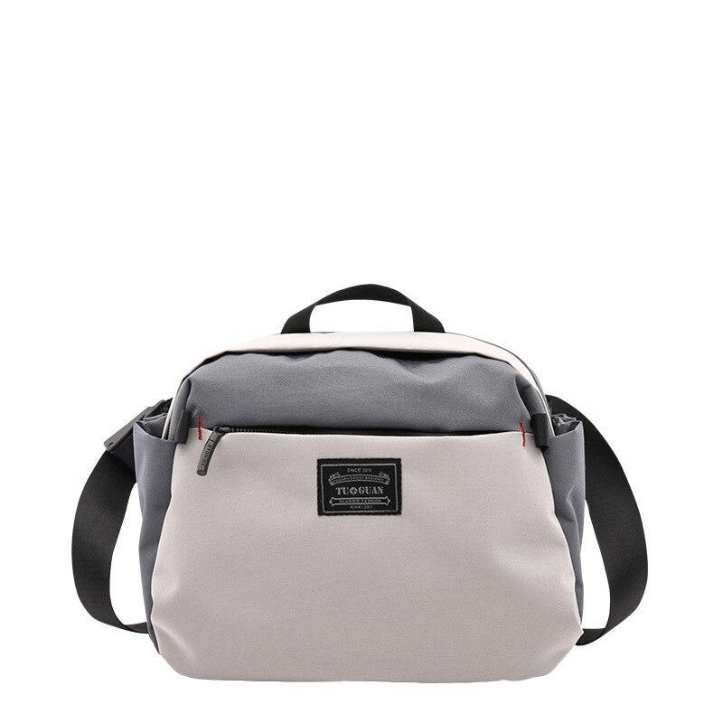 TUGUAN Male Package Canvas Handbag Single Shoulder Messenger Bags Man Oblique Satchel Bag Female Pocket Crossbody Bags For Women