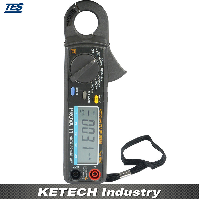 PROVA 11 High Resolution AC DC MA True RMS Clamp Meter Super DC 1mA AC 0