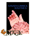 Sanada Gimmick Routines (Includes Gimmick and Magnet) by Toyosane Sanada   / close-up magic trick / wholesale / FREE SHIPPING