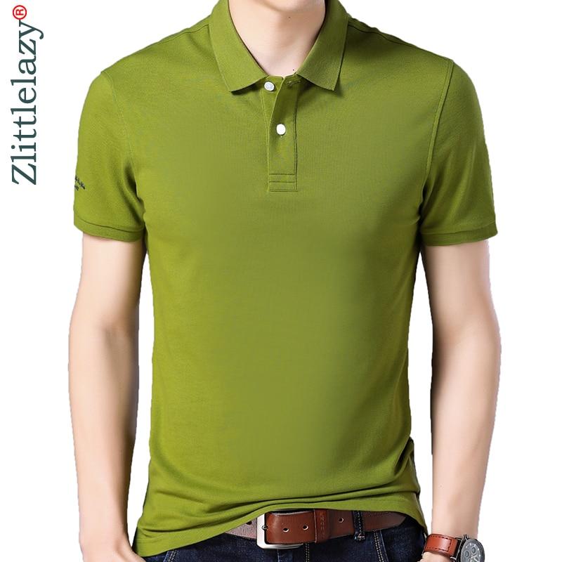 2019 brand casual summer solid short sleeve   polo   shirt men poloshirt jersey luxury mens   polos   tee shirts dress fashions 41652