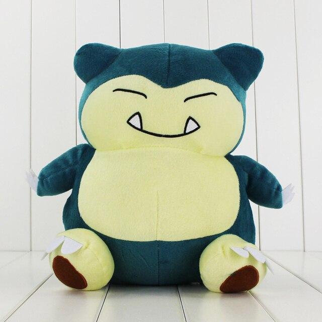 Новое Прибытие Большой Размер 30 см Snorlax Игрушки Мягкие Плюшевые Куклы Розничная
