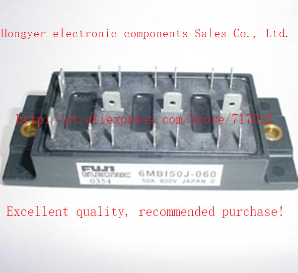 Free Shipping 6MBI50J-060  IGBT Power module:50A-600V,Can directly buy or contact the seller igbt power module 2mbi300n 060 300a 600v 2mbi300n