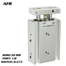 цена на SMC Type Dual Rod Cylinder Basic TYPE double cylinder / double shaft cylinder CXSM32-40 CXSM32-45 CXSM32-50 -Z73 -Y59A
