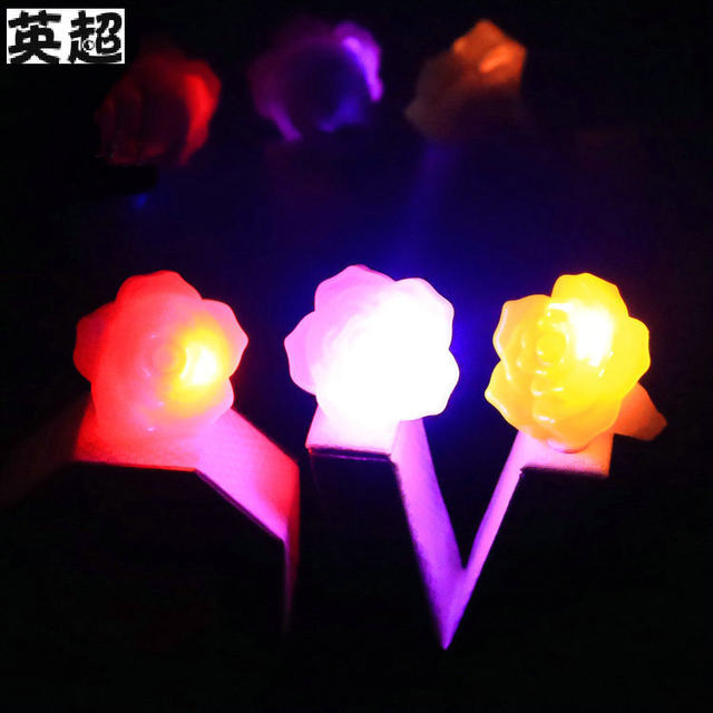 glow in the dark lighting. 36pcs/lot Party Glowing Crown Flowers Glow In The Dark Light-up Finger  Rings Light Kids Events Birthday Festival Favors Glow Lighting H