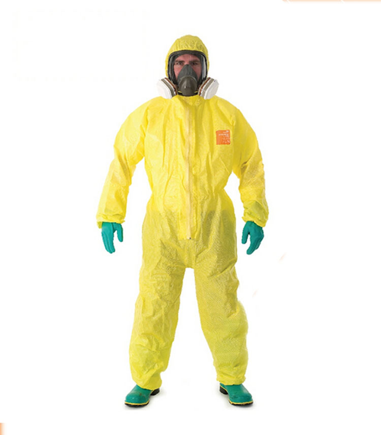 3000 chemicals protective clothing sulfuric acid alkali mercury one