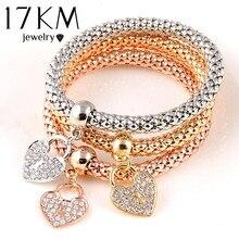 Bracelet Color Heart feminina