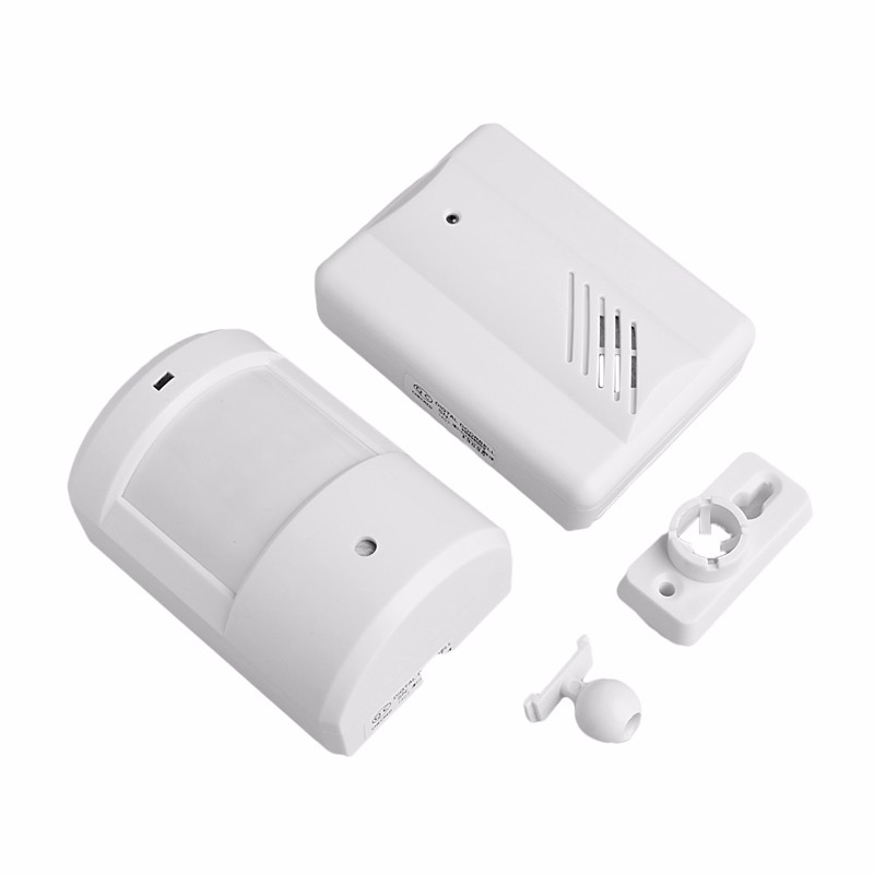 New Wireless Sensor Detector Door Gate Entry Bell Chime Doorbell Alarm Alert Motion wireless motion sensor detector gate entry door bell chime alert alarm system lcc77