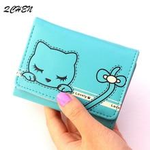 купить Woman's wallet Small Fashion Brand Leather Purse Ladies Card Bag Short Wallet Women Clutch Women Female Purse Money Clip 269 дешево