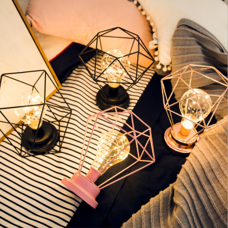 creative girl heart room layout red light Indoor bedroom Holiday decorative lamp String photo Pictuer Christmas Festival Party