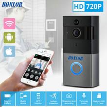 Видеодомофон bonlor 720p hd wi fi камера безопасности в режиме