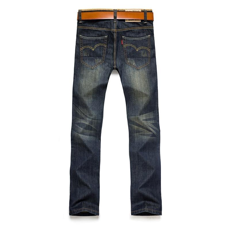 2017 brand jeans men casual straight denim men's straight jean cotton Blue Jeans Denim Pants men capris jeans casual pants lole капри lsw1349 lively capris xs blue corn
